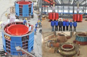 Vertical Francis Turbine Unit 2X3.75mw pictures & photos