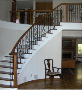 Ornamental Iron Stair Balustrade pictures & photos
