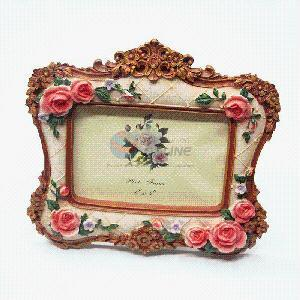 Vintage Design 3D Flower Resin Photo Picture Frame pictures & photos