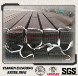 Manufacture Black Carbon Round Steel Pipe for Shipbuilding pictures & photos