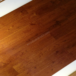 Oak Wooden Flooring Hardwood Flooring with Different Color pictures & photos