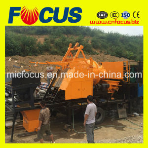 Truck Mounted Concrete Mixer Pump with Aggregate Weighting System pictures & photos