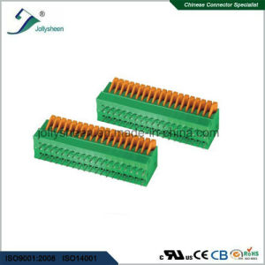 PCB Spring Terminal Block Connector pH2.54mm Straight Type pictures & photos