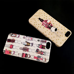 High Quality Custom Design Cell/Mobile Phone Cover/Case for iPhone 7/Se/5/5s/6/6s/6 Plus Water Transfer IMD Flat Printing Plating Crafts Optional pictures & photos