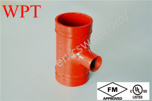 FM UL Ce Approved Threaded Reducing Tee