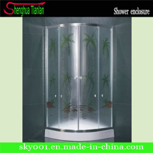 CE Approved Quadrant Simple Glass Bathroom Shower Enclosure (TL-536) pictures & photos