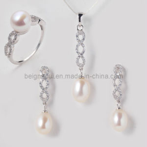 Fresh Water Pearl Jewelry for Wedding Jewelry Set