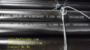 Steel Tube for Water, ASTM A53/ASTM A106 Gr. B Pipes, X42 Seamless/ERW Steel Tube pictures & photos