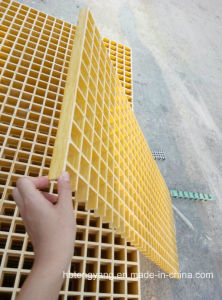 Colourful Industrial Grade FRP Pultruded Grating pictures & photos