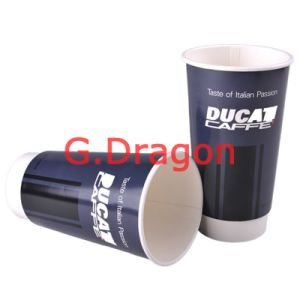 to Go Paper Cups for Hot or Cold Drinking (PC023) pictures & photos