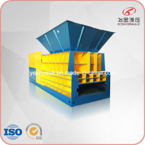 Hs-400 Horizontal Iron Steel Aluminum Tubes Container Shear pictures & photos