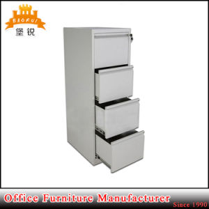 Vertical 4 Drawer Steel Filing Cabinets Office Archive Metal File Cabinet pictures & photos