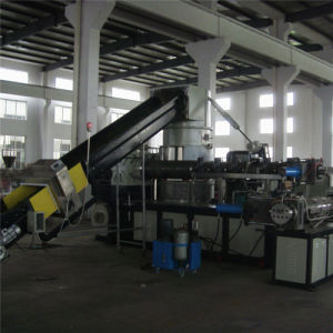 PP Double Stage Plastic Pelletizing Line pictures & photos