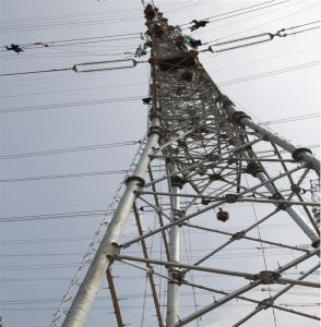 500kv Transmission Steel Tube Tower