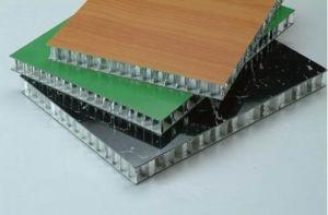 Stone Grain Coating Aluminium Honeycomb Panels (HR P021) pictures & photos