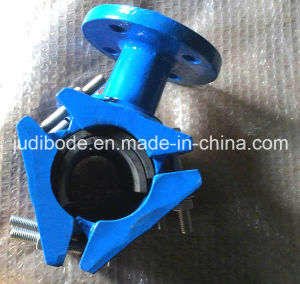 Universal Saddle Clamp with Flange Outlet pictures & photos