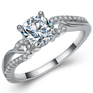 Hot Sale Wedding Ring Jewelry 925 Sterling Silver pictures & photos