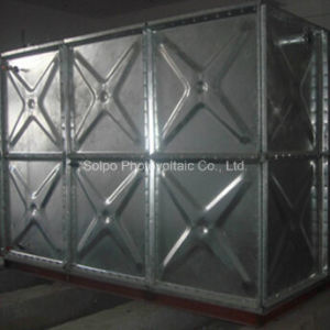 Hot Dipped Galvanized Pressure Water Tank
