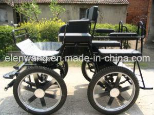 Economic Marathon Horse Cart Horse Carriage (GW-HC014-7#) pictures & photos