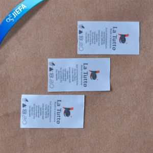 Wash Care Clothing Name Label Printing Custom pictures & photos