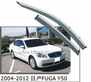 Window Visor for 2004-2012 Nissan Fuga Y50 Truck Window Vents pictures & photos