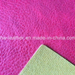 100% PU Leather for Shoes, Handbag (HW-1617) pictures & photos