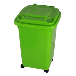 50 LTR Green Garbage Bin (FS-80050) pictures & photos