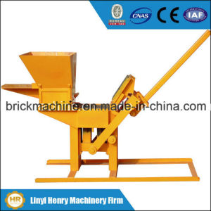 Hr2-40 Manual Soil and Clay Interlocking Brick Machine pictures & photos
