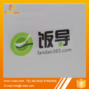 Hot Sale Custom Logo Print Transparent Sticker