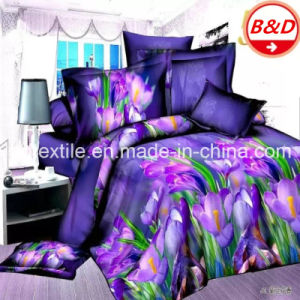 Cheap Wholesale Printed Polyester Fabric for Bedding Set pictures & photos