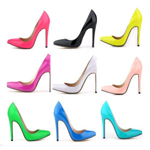 2016 New Design Fashion 11cm High Heeled Women Dress Shoes (A 95) pictures & photos