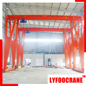 Single Girder (Semi) Gantry Crane (1t, 2t, 3t, 5t, 8t, 10t, 12.5t, 15t, 16t, 20t) pictures & photos