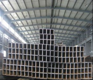 Hollow Hot Dipped Galvanized Steel Square Pipe/Gi Steel Tube pictures & photos