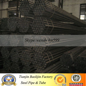 2 1/2′x1.8mm Round Black Steel Tubing pictures & photos