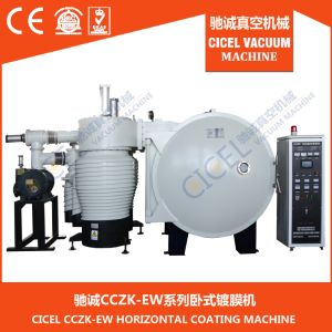 Cczk-1000 Plastic Decorative Vacuum Coating Machine/Diomands PVD Vacuum Coating Machine/Glass Aluminum Coating Machine pictures & photos