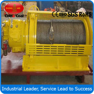 Pneumatic Rope Lifting Winch Factory pictures & photos