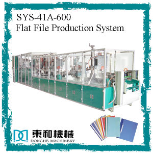 Flat File/Plastic Files Production System pictures & photos