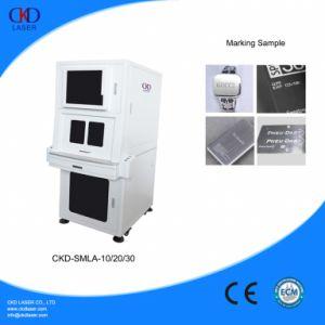Eco-Friendly Sealing Fiber Laser Engraving Machine pictures & photos