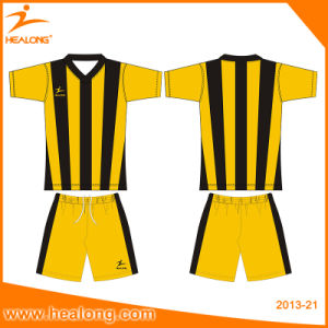 Healong Kids Size All Over Sublimation Soccer Jersey Uniforms pictures & photos