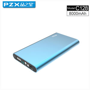 Model C128 Factory Direct Sale 8000mAh Mobile Power Bank Ultra-Thin Fuselage Hot Sell pictures & photos