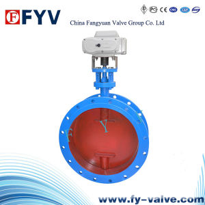 API Electric Aeration Butterfly Valve pictures & photos