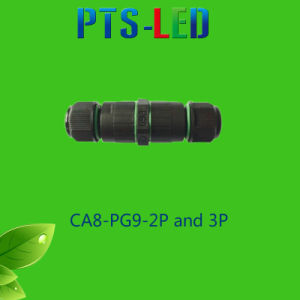 Waterproof 3-5 Pin Wire Connector / Connector Cable for Street Lamp Lighting pictures & photos
