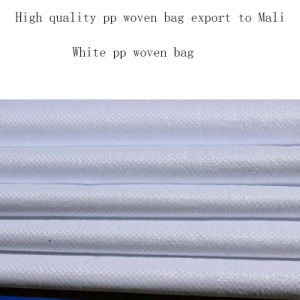 High Quality White PP Woven Bag for Packing Fish Meal Export to Africa