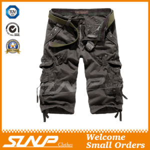 Summer Cargo Shorts with Side Pockets for Men