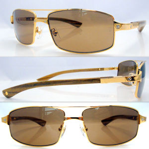 Wooden Sunglasses/ Men Sunglasses /Sun Glass Ct 4480316 Rosewood Gold Brown pictures & photos