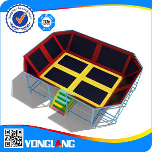 CE Standard Indoor Commercial Trampoline for Adults and Kids pictures & photos