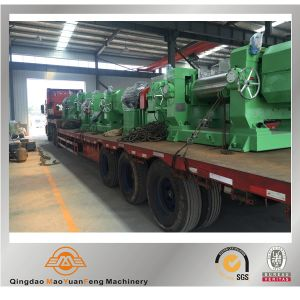 Rubber Two Roll Open Mill with Stock Blender with BV ISO SGS pictures & photos
