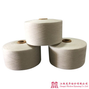 Recycled Raw White Polyester Cotton Yarn (10S)