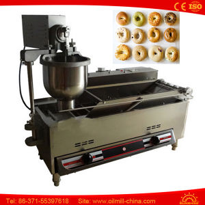 Automatic Gas Mini Commercial Donut Glazing Making Maker Machine pictures & photos