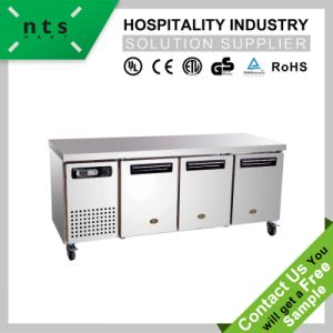 Commercial Worktop, Worktops, Kitchen Work Station Table with Refrigeration Unit, Air Cooling Worktop pictures & photos